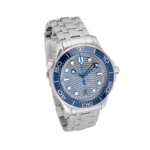 Automatic Blue Dial Steel-Side