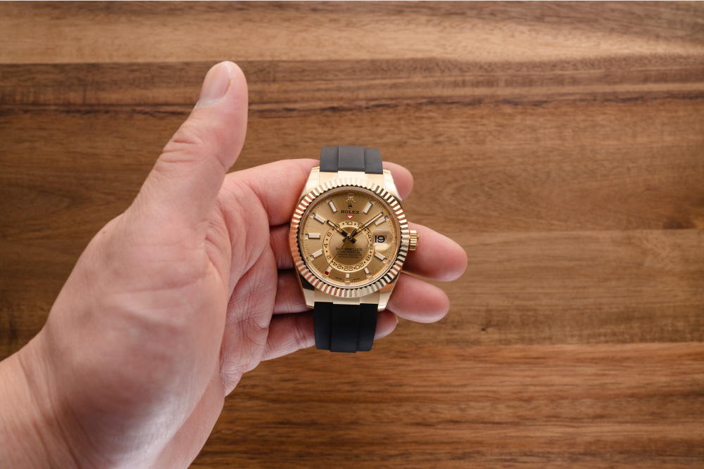 Let's learn How to Use the Rolex Sky-Dweller