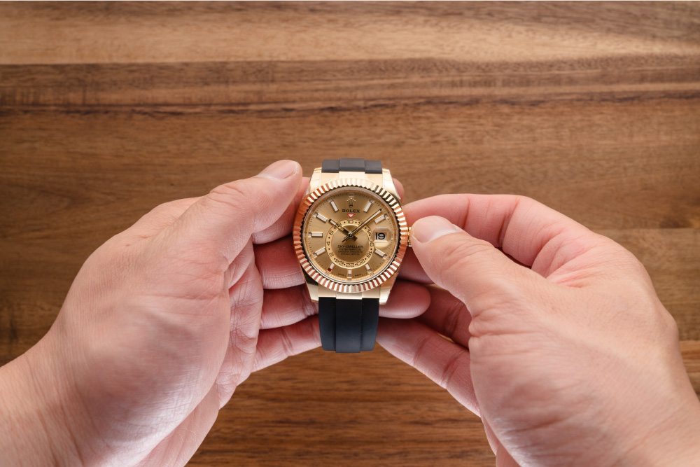 How to Use the Rolex Sky-Dweller is easy.