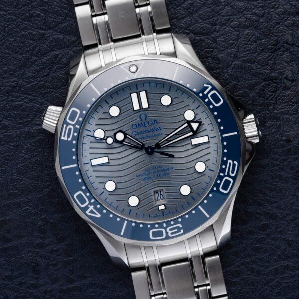 Omega Seamaster Co‑Axial Master Chronometer Ref.210.30.42.20.06.001 Watch Front View