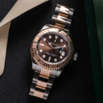 Rolex Yacht-Master Rose Gold Chocolate Dial Ref. 126621-Lifestyle