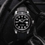 Rolex Yacht-master 42 Mm Oysterflex Ref. 226659 Black Dial Color Watch Top View