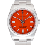 Rolex Oyster Perpetual 126000 Red-Face2