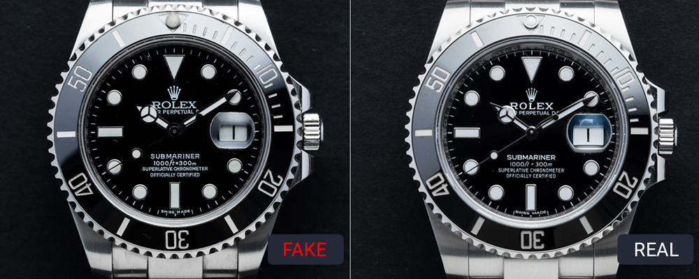 Differences in the dial