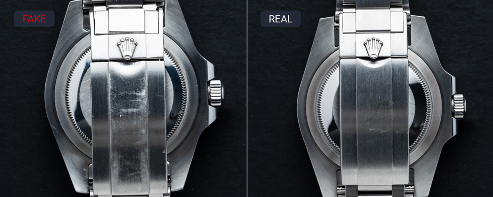 How to Spot a Fake Rolex Watches with Bracelet - Differences Between Fake and Real Rolex