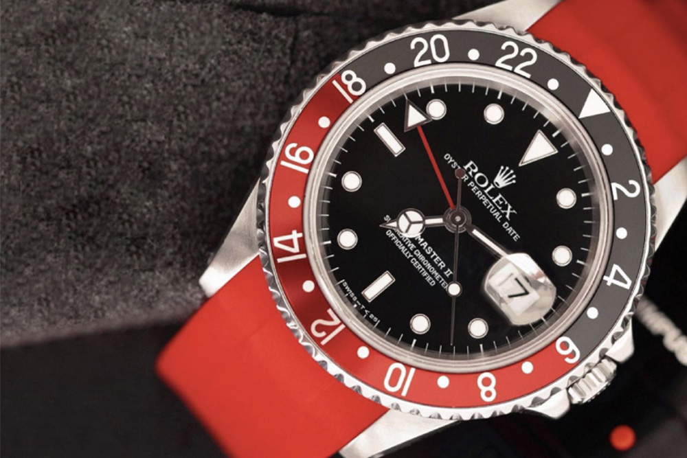 Black and Red watches GMT-Master II Fat Lady