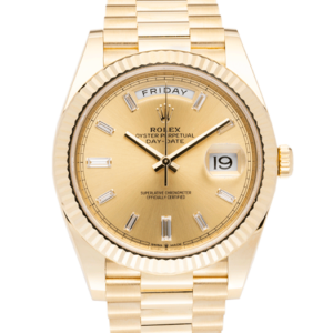 Rolex DayDate President YellowGold-Face2