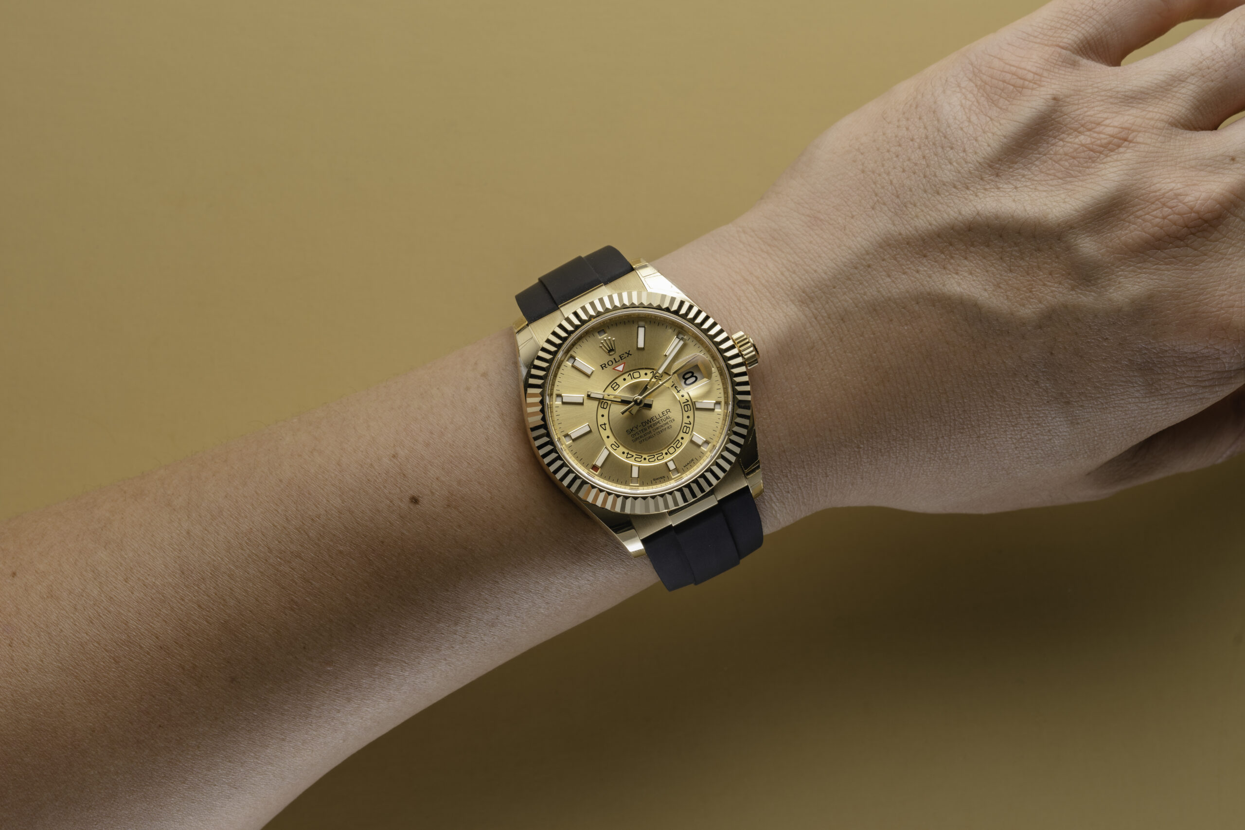 The Sky-Dweller is one of the newest collections and incredibly helpful.