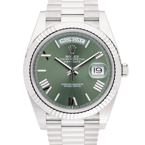Rolex Day-Date WhiteGold GD-Face2