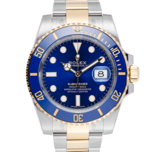 Rolex Submariner Bluesey-Face2
