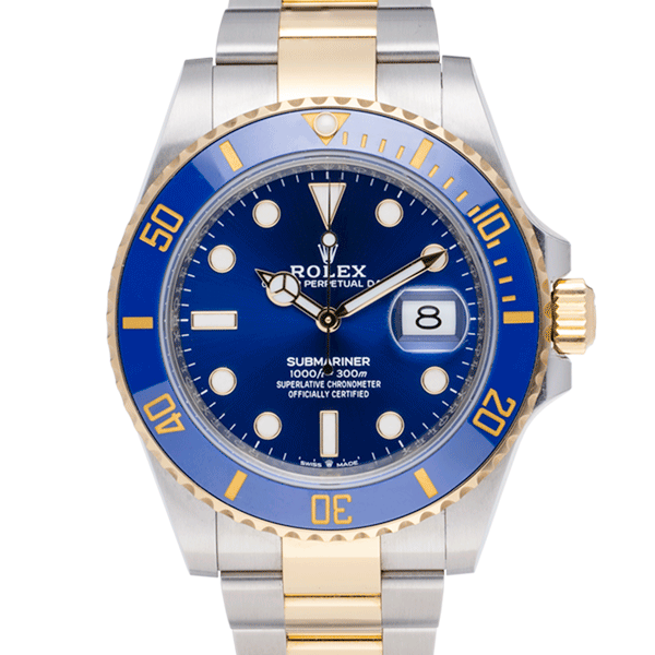 Rolex Bluesey Used-Face2