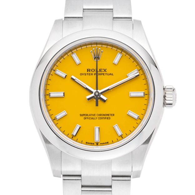 Rolex Oyster Perpetual 277200 Yellow-face
