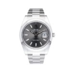 Rolex Oyster Perptual Grey Dial-Full