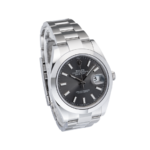 Rolex Oyster Perptual Grey Dial-Side