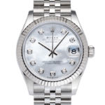 Rolex Datejust Pearl Dial-Face2