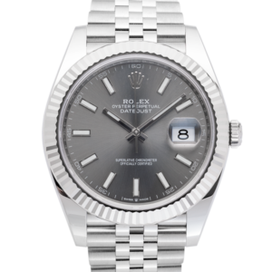 Rolex Datejust Fluted Silver-Face2