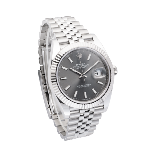 Rolex Datejust Fluted Silver-Side