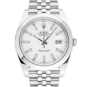 Datejust 126300 White Dial-Face