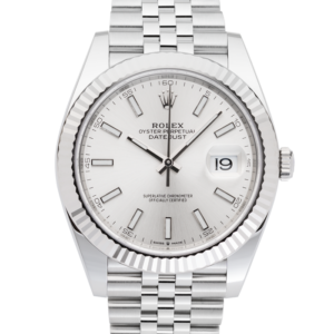 Rolex Datejust Silver Dial 126334-Face