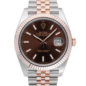 Rolex Datejust Chocolate Dial 126331-Face