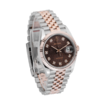 Rolex Datejust Chocolate Anniversary Dial 126231-Side