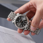 Rolex Datejust Fluted Silver-Lifestyle