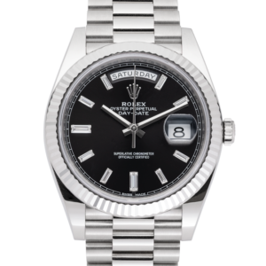 Rolex Day-Date 228239 Diamonds-Front