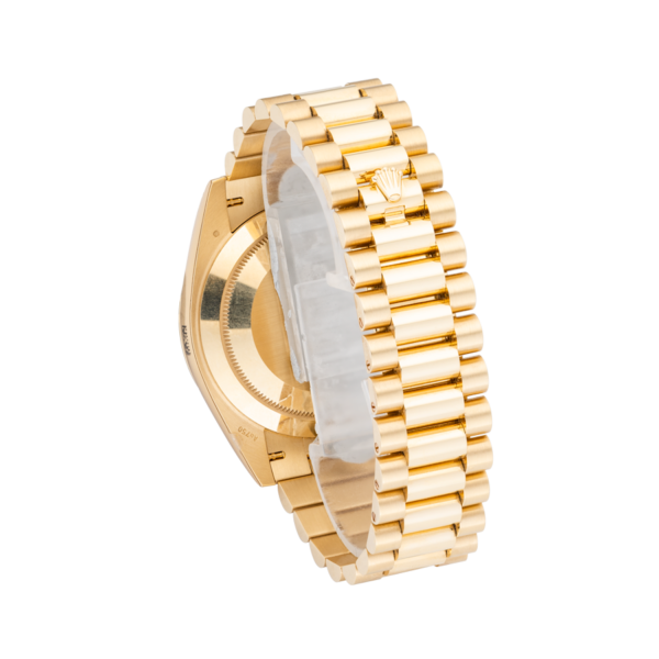 Rolex Day-Date 228238 Champagne Roman Dial-Back
