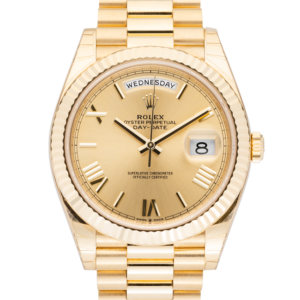 Rolex Day-Date 228238 Champagne Roman Dial-Face